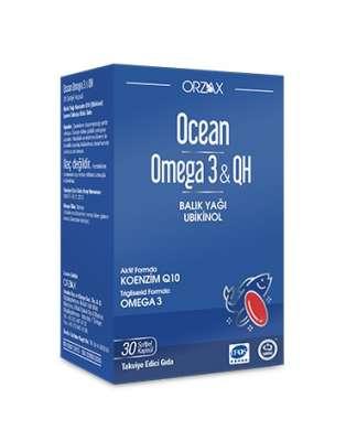 Ocean - Ocean Omega 3 QH 30 Kapsül