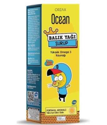 Ocean - Ocean Balık Yağı 150 ml - Portakal Aromalı