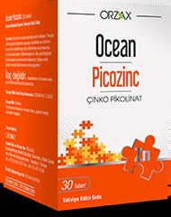 Ocean - Ocean Picozinc Çinko 30 Tablet