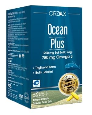 Ocean - Ocean Plus Balık Yağı 1200 mg 50 Kapsül