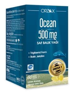 Ocean - Ocean Balık Yağı 500 mg 60 Kapsül