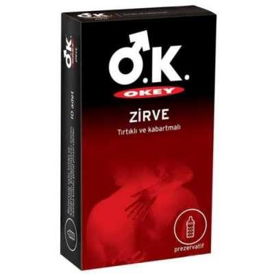 Okey - Okey Prezervatif Zirve 10 Adet