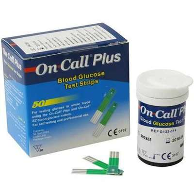 On Call - On Call Plus Şeker Ölçüm Çubuğu 50 Adet