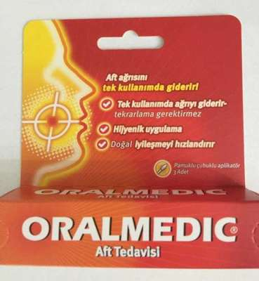Oralmedic - Oralmedic Bariyer Solüsyon 0.2 ml 3 Aplikatör