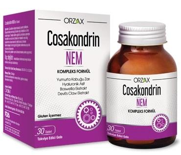 Orzax - Orzax Cosakondrin NEM 30 Tablet