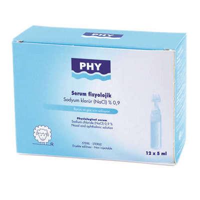 PHY - Phy Serum Fizyolojik 12 Flakon