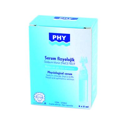 PHY - Phy Serum Fizyolojik 6 Flakon