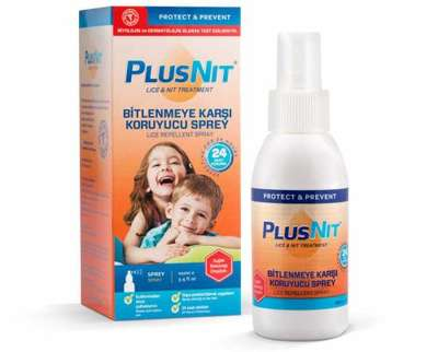 Plusnit - Plusnit Bitlenmeye Karşı Koruyucu Sprey 100 ml