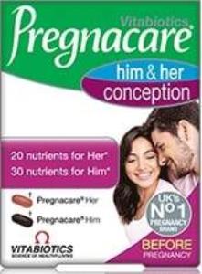 Pregnacare - Pregnacare Him Her Conception 60 Tablet