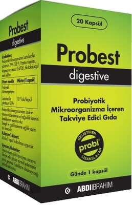 Probest - Probest Digestive Probiyotik 20 Kapsül