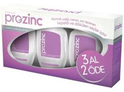 Proznc - Prozinc Normal ve Yağlı Saçlar İçin Şampuan Mor 3x300 ml