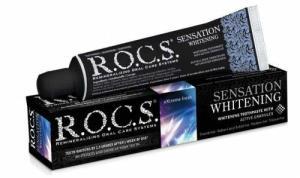 Rocs - Rocs Sensation Whitening Beyazlatıcı Parlatıcı Diş Macunu 60 ml