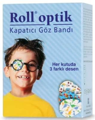 Roll Optik - Roll Optik Kapatıcı Göz Bandı 20 Adet - Erkek