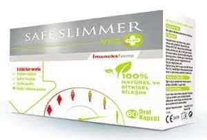 Safe Slimmer - Safe Slimmer Veg Plus 60 Oral Kapsül