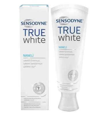 Sensodyne - Sensodyne True White Beyazlatıcı Diş Macunu - Naneli 75 ml