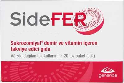 Sidefer - Sidefer 14 mg 20 Şase