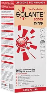 Solante - Solante Acnes Tinted Akneli Ciltler Güneş Koruyucu Spf 50 150 ml