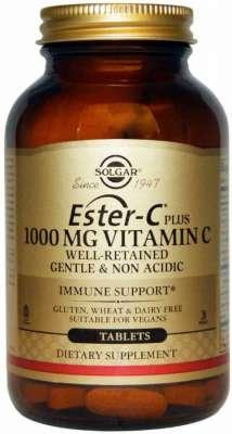 Solgar - Solgar Ester C 1000 mg 60 Tablet
