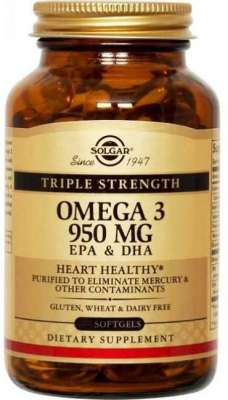Solgar - Solgar Omega 3 950 mg 50 Kapsül
