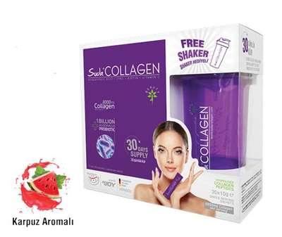 Suda - Suda Collagen Probiyotik Karpuz Aromalı 10 gr x 30 şase