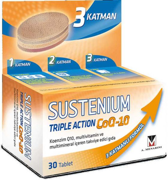 Sustenium Triple Action CoQ-10 Multivitamin