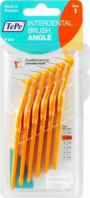 Tepe - Tepe Diş Arası Fırçası Angle 0.45 mm Turuncu 6 Adet