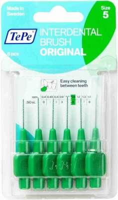 Tepe - Tepe Diş Arası Fırçası Blister 0.8 mm Yeşil 6 Adet