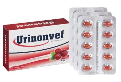 Urinonvef - Urinonvef 30 Kapsul