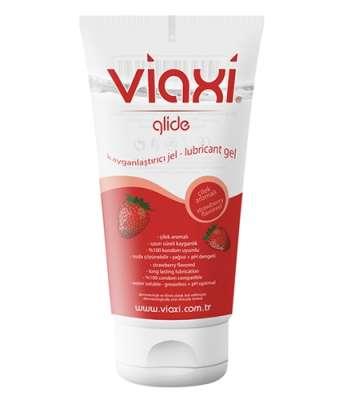 Viaxi - Viaxi Glide Çilekli Kayganlaştırıcı Jel 100 ml