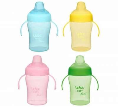 Wee - Wee Baby Colorful Akıtmaz Kulplu Bardak 240 ml