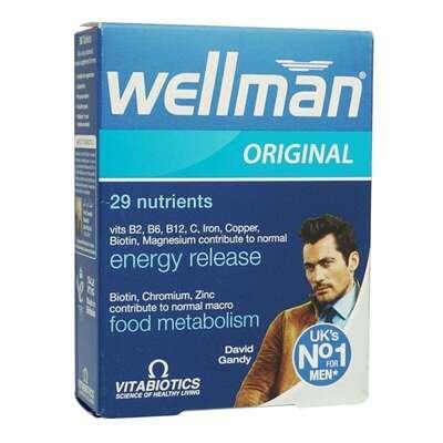 WellMan - WellMan Erkek 30 Tablet