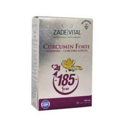 Zade Vital - Zade Vital Curcumin/Zerdeçal Yağı Kapsülü 40 Adet