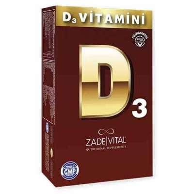 Zade Vital - Zade Vital Vitamin D3 Damla 15 ml
