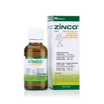 Zinco - Zinco Damla 30 ml