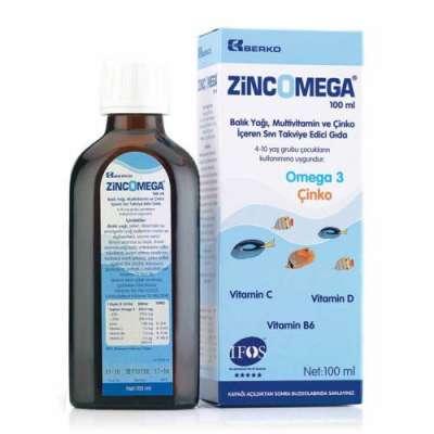 Zincomega - Zincomega Omega 3 Balık Yağı 100 ml